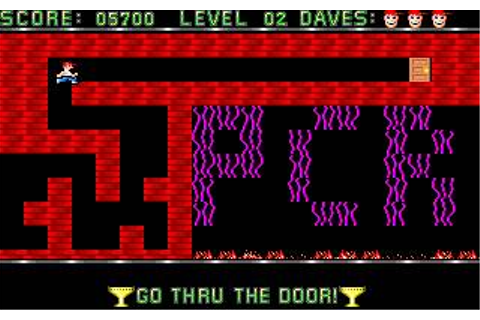 Dangerous Dave Download (1990 Arcade action Game)