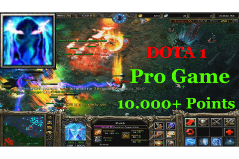 Ancient Apparition - Dota 1 Pro Game (10.000+ Points ...