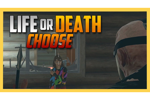 Life Or Death. CHOOSE. - Friday the 13th The Game ...