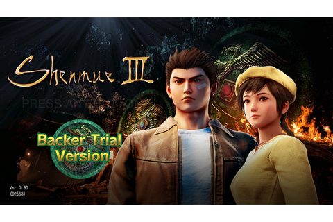 New Shenmue III Demo Footage Out Now, Some Captured at 4K ...