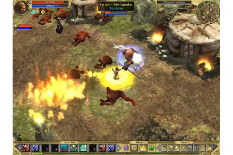Titan Quest Immortal Throne lvl 50 Spellbreaker Gameplay ...