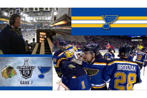 Behind the Scenes: Blues vs Hawks - Game 7 - View From the ...