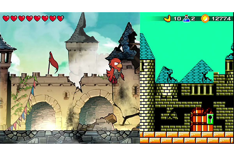 Wonder Boy: The Dragon's Trap lets you switch from HD to 8 ...