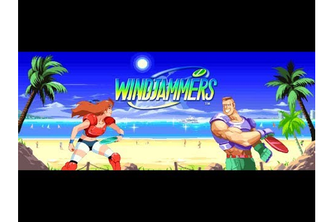 Windjammers/Flying Power Disc (Arcade) - YouTube