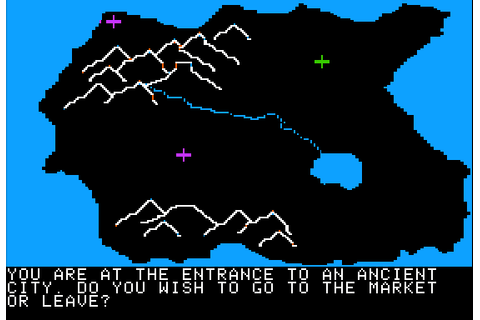 Odyssey: The Compleat Apventure (1978) Apple II E game