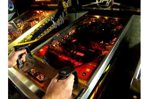 Hyperball Pinball 1 player extended game - YouTube