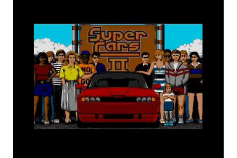 Super Cars 2 Atari ST game intro - YouTube