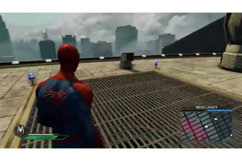 The Amazing Spider-Man 2 Video Game - TASM2 suit free roam ...