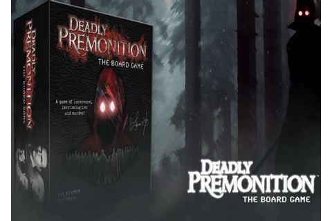 Deadly Premonition Board Game Launches On Kickstarter ...