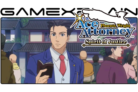 Phoenix Wright Ace Attorney: Spirit of Justice Japanese ...