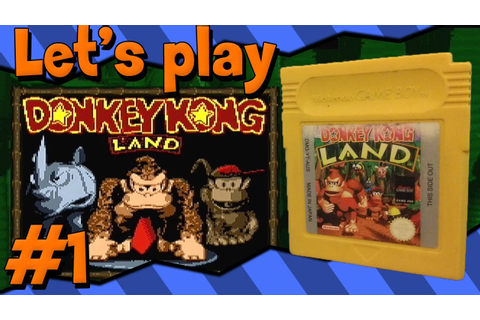 Donkey kong Land (Gameboy)(1080p) - Let's play Part 1 ...