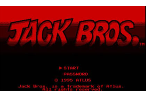 Jack Bros. Review for Virtual Boy (1995) - Defunct Games