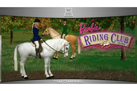 Barbie Riding Club (part 4) (Horse Game) - YouTube