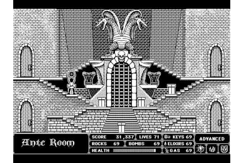 Beyond Dark Castle Original Macintosh Version! - YouTube