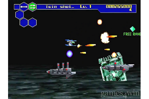 Thunder Force V Screenshots