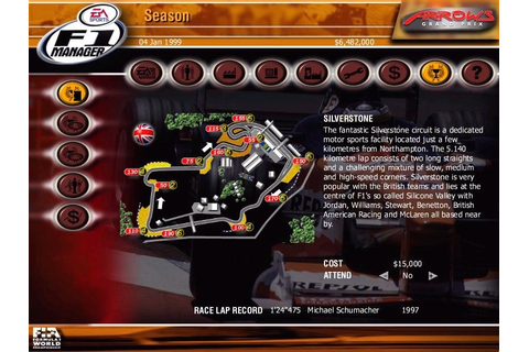 F1 Manager 2000 - PC Review and Full Download | Old PC Gaming
