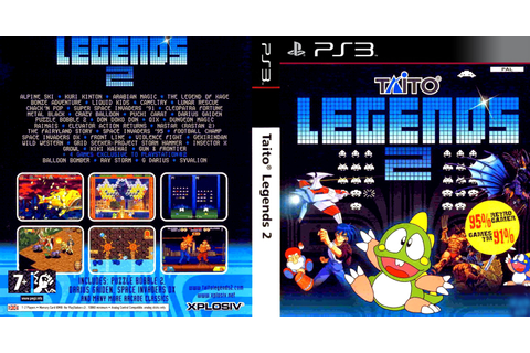 GAMES & GAMERS: TAITO LEGENDS 2 PS3/PS2 DOWNLOAD