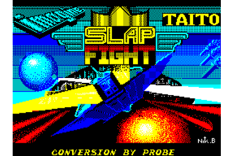 Slap Fight (1987) by Imagine ZX Spectrum game