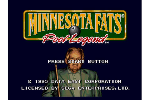 Minnesota Fats Pool Legend Screenshots | GameFabrique