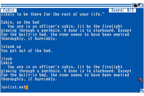 Plundered Hearts (1987) by Infocom Amiga game