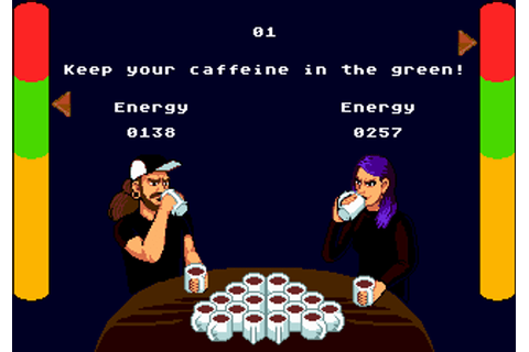 Coffee Crisis - Sega Genesis Homebrew Game - Stone Age Gamer