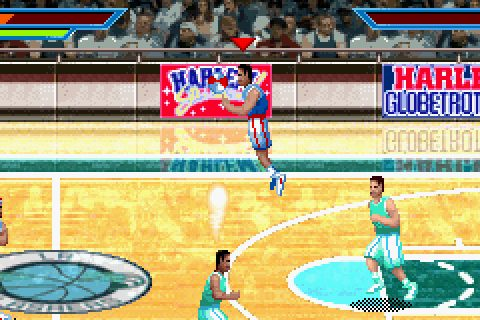 Harlem Globetrotters - World Tour (2006) by Full Fat GBA game