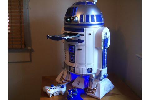 R2-D2 With Built-In Xbox 360, PlayStation 3 Now Available ...
