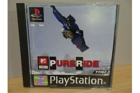 MTV Sports Pure Ride...PS1 Game..(Free Post AU) | eBay