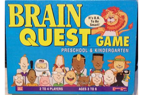 BRAIN QUEST GAME PRESCHOOL & KINDERGARTEN | eBay