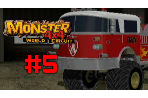 Monster 4X4 World Circuit Ep. 5 - FIRE - YouTube