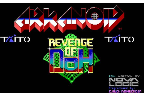 Download Arkanoid 2: The revenge of Doh action for DOS ...