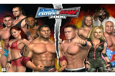 WWE Smackdown vs RAW 2006 PC Game Free Download Setup RAR ...