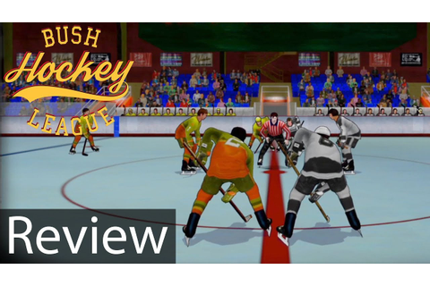 Bush Hockey League Gameplay Review - YouTube