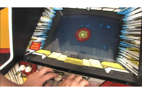 Classic Game Room - STAR CASTLE arcade machine review ...