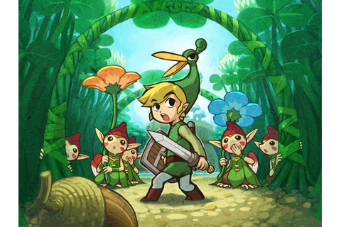The Legend Of Zelda: The Minish Cap 4k Ultra HD Wallpaper ...