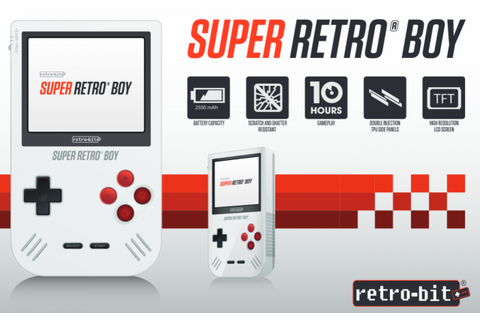 Super Retro Boy, nuevo clon de Game Boy Advance creada por ...
