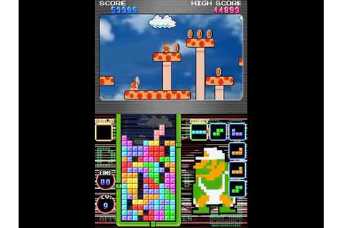Tetris DS (NDS Gameplay) - YouTube
