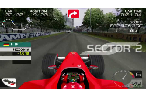 Formula One 2003 - Gameplay PS2 HD 720P - YouTube