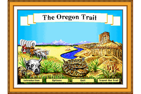 Oregon Trail | Old DOS Games | Download for Free or play ...