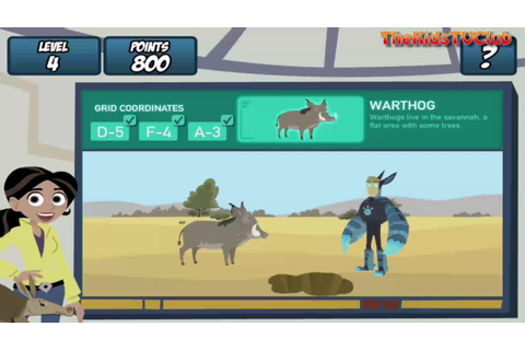 Wild Kratts: Aardvark Town - Educational and Fun PBS Video ...