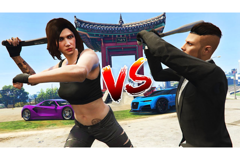 GTA 5 Online - ULTIMATE BOYFRIEND vs GIRLFRIEND!! - YouTube