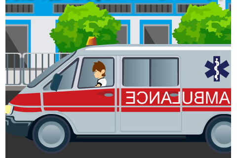 Ambulance Games >> Ambulance Frenzy - Tractor Games
