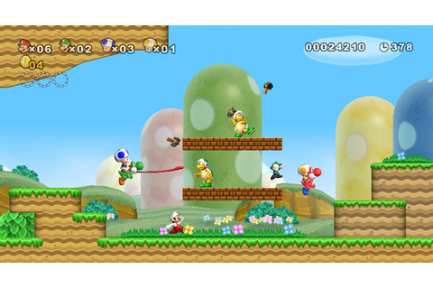 Amazon.com: New Super Mario Bros. Wii: Nintendo Wii ...