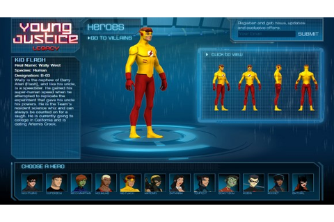 Young Justice Legacy Update 1-RELOADED ~ STALLGAME