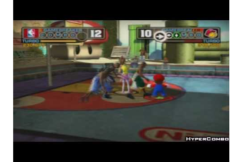 Nba Street V3: Nintendo Allstars Game #2 - YouTube