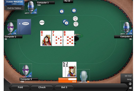 Game of the Day: Poker: Texas Hold'em (Limit) - AOL Games