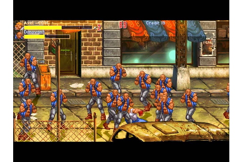 Streets of Rage 4 HD Gameplay [HD] - YouTube