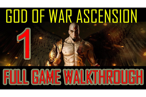 God of War Ascension - walkthrough part 1 let's play ...