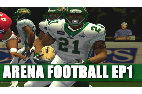 THIS IS ONE CRAZY FOOTBALL GAME ARENA FOOTBALL ROAD TO ...