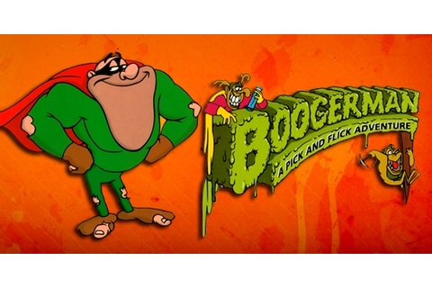 Boogerman A Pick And Flick Adventure game | GameFabrique